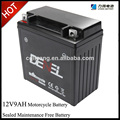 12v 9ah CTX9-BS maintenance free MOTORCYCLE battery gel battery sealed battery