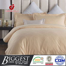 300T 60s egyptian cotton queen size cream jacquard duvet cover for home or star hotels