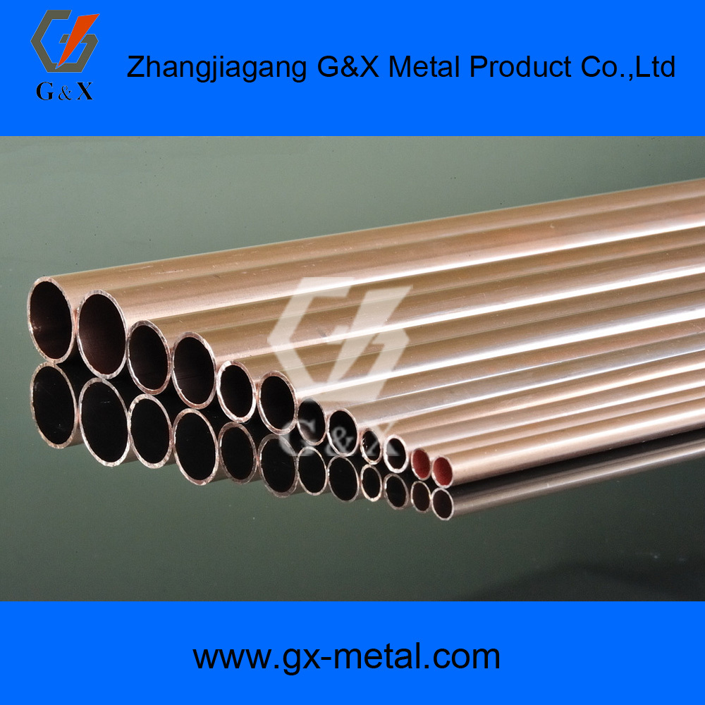 Non-alloy Alloy Or Not and Pancake Coil Copper Pipe Type large diameter copper pipe