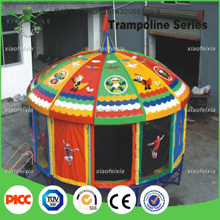 Cheap Funny Good Quality 14ft Tr&oline Tent Cover & List Manufacturers of Trampoline Tent Cover Buy Trampoline Tent ...
