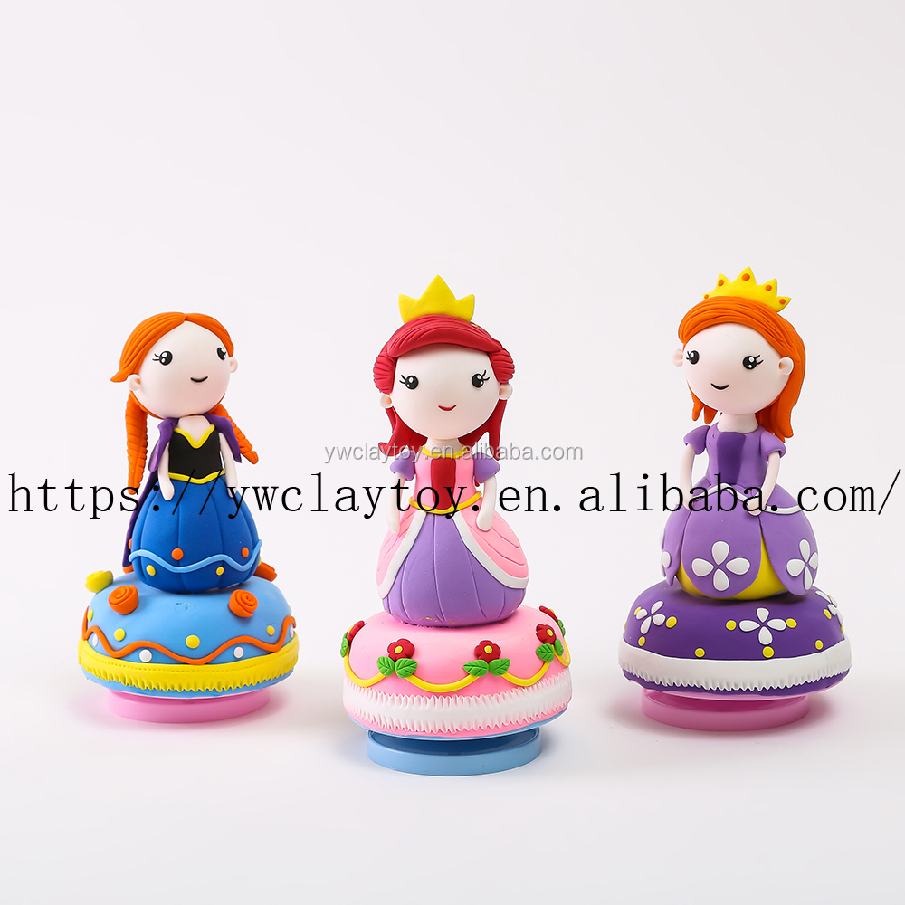 CLAYDOLL Air Dry Clay Hot China Factory Kids Toys For Christmas 2016