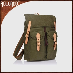 Best Quality Large Capacity Canvas Hiking Backpack Bag