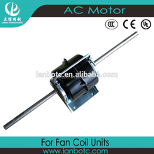 hot sale & high quality Double Shaft Air Conditioning Fan Coil Unit Motor