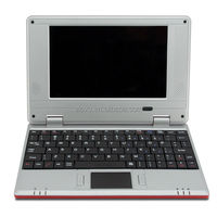 NEW item VIA WM8850 Android laptop 7 inch mini Laptops wholesale in the world
