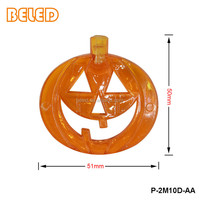 2.5M 10LED Halloween Pumpkin String Lights Battery Operated Decoration Lights for Halloween Party Decoration