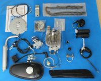 Bicycle Gas Conversion Kit 80cc Moped Engine Kit Motorcycle Part