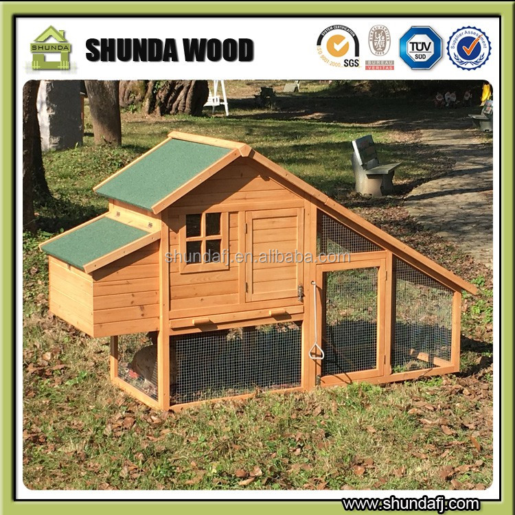 SDC003 Outdoor Wooden Commerical Chicken House For Laying Hens