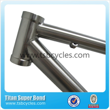 650B china titanium mountain bike frame with 44mm straight headtube and 142*12mm thru alex dropout
