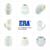 ERA BS Standard High Quality Full Sizes Plastic  PVC Female Threaded Tee  Fittings