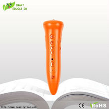Portable language translator point reading pen with souding books