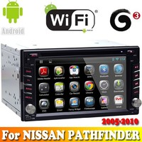 A9 Dual Core android 4.2.2 system touch sreen car dvd gps navigation for NISSAN PATHFINDER 2005-2010 car radio bluetooth wifi 3G