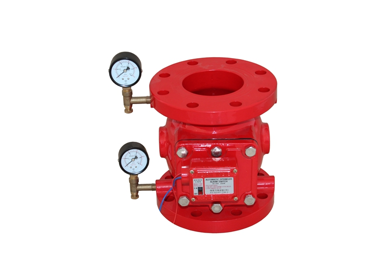 fire fighting ul listed fire wet alarm check valve
