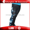 Fashion Sports Ice Skating Dance Training Pants With Pattern