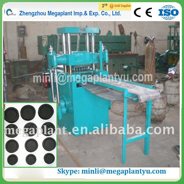 Coal processing machinery Shisha sawdust charcoal making machine