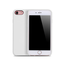 New stock elegant silicone white mobile case cover women phone case for samrtphone