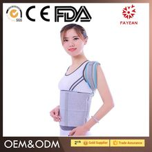 China Manufacturer high compression back posture shoulder support brace for sports activities