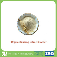 Energy boost food 100% soluble in water organic panax ginseng extract powder