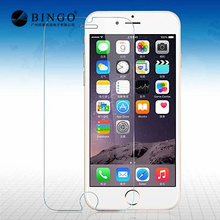 9H hardness HD clear 2.5D premium tempered glass screen protector for iphone6 mobile cell phone