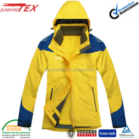 wholesale warm winter clothing and winter fashion 3 in 1 jacket