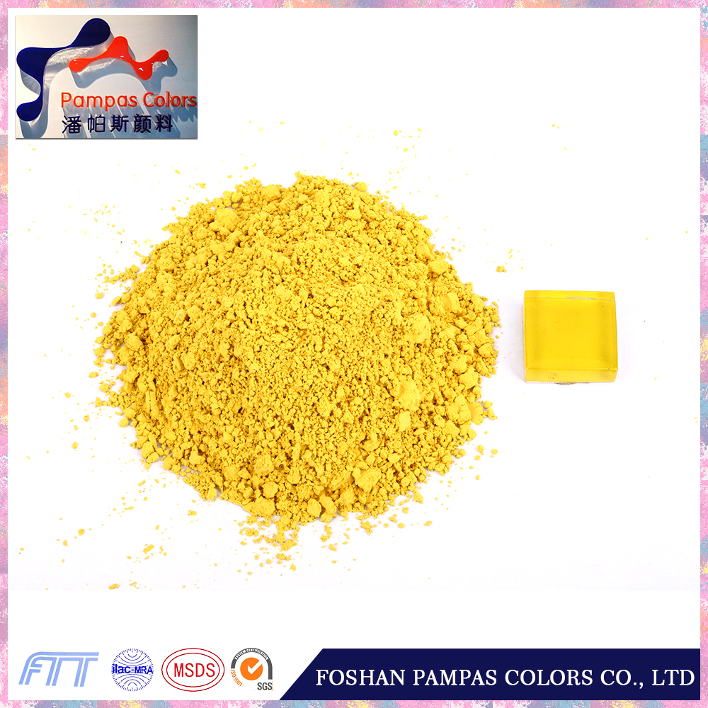 foshan best pigments Color Pigment Yellow 97 in china low price