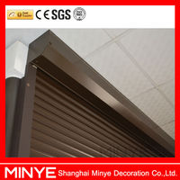 hot sale durable design exterior aluminum roll shutter with distance controler