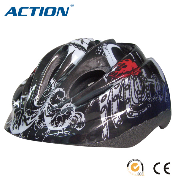 customized dark helmet bicycle helmet for sale for child
