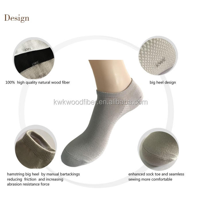 Color Fastness Static-free Ankle Smell Free Massage Man Socks