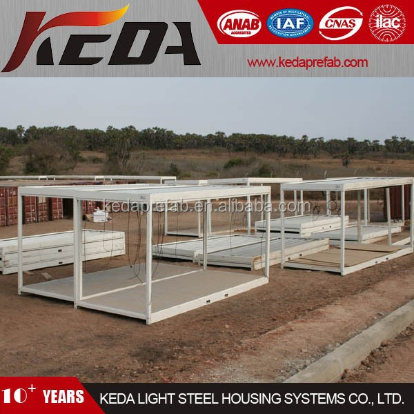 Prefabricated Light Steel Frame Structure House Container Home Office 377