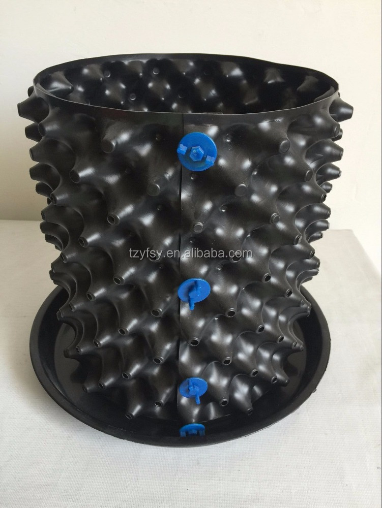 Recycled Polyester PE tree flower grow indoor pots
