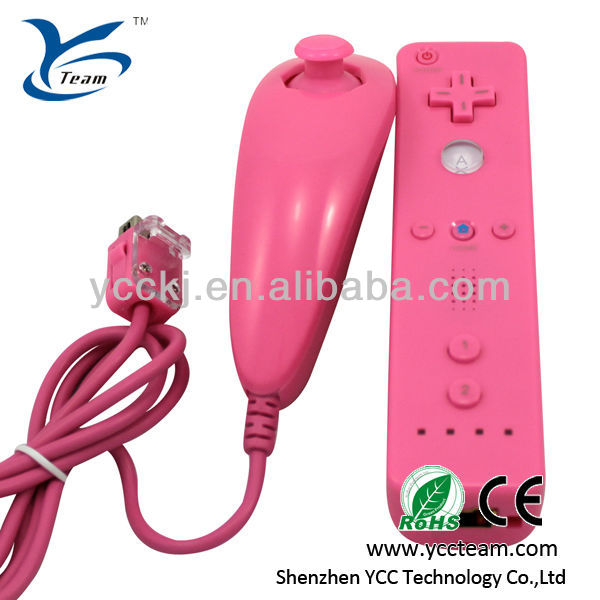 China Video game for wii remote(with motion plus) and nunchuk