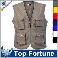 Customized Wholesale mesh safety vest with pockets
