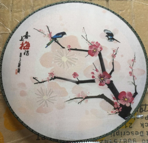Wholesale Chinese Personalized White Silk Hand Fan for Painting