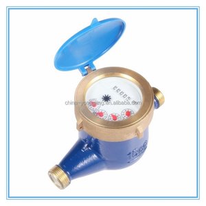 Multi-jet, Vane Wheel, Dry-dial (or Wet) Water Meter