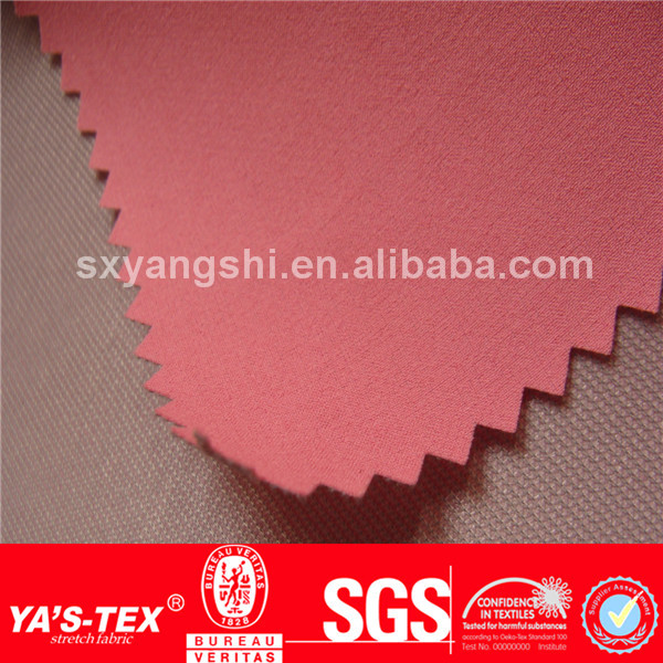 4 way stretch compound fabric, polyester spandex mesh fabric pvc coated polyester fabric