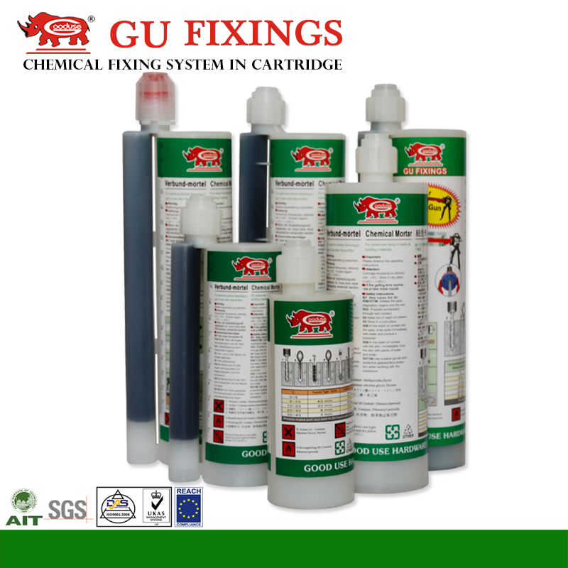 Less waste cheap granite tile adhesive anchoring system for rebar silicone sealant for stainless steel