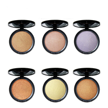 Wholesale No Label 12 colors Highlighter Makeup Pressed Powder