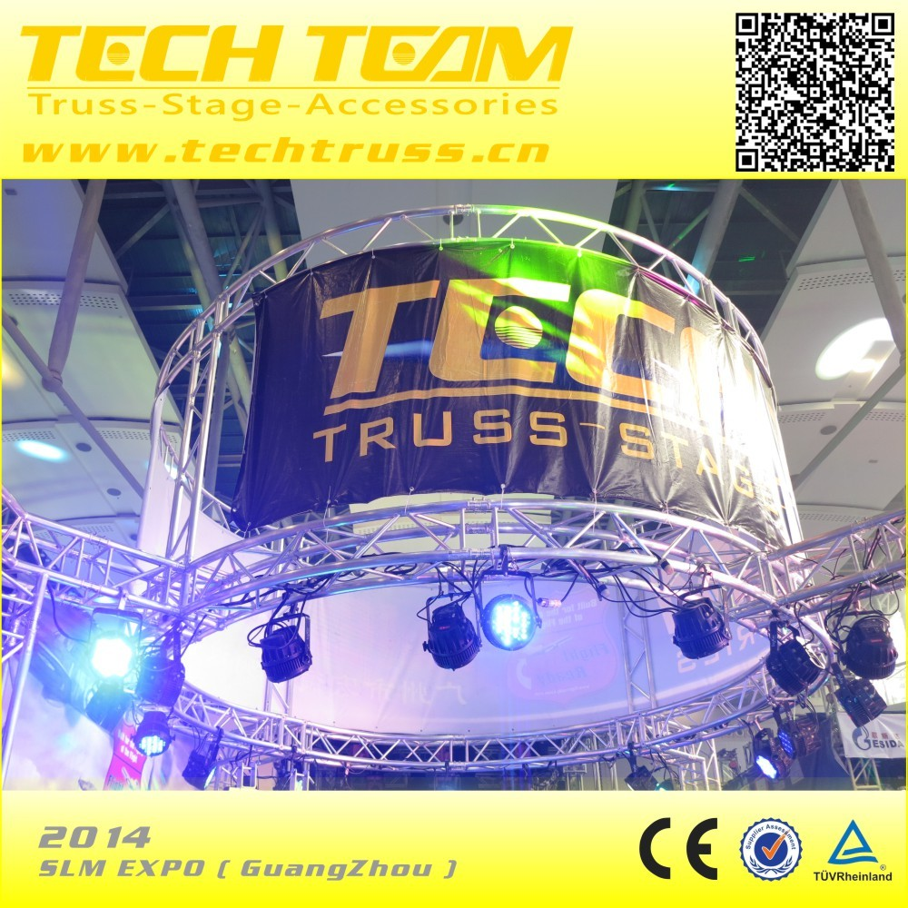 hight quality popular circular roof truss , square circular roof truss