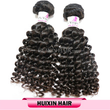 Factory Wholesale Unprocessed 8A Loose Deep Wave 100% Virgin Peruvian Hair