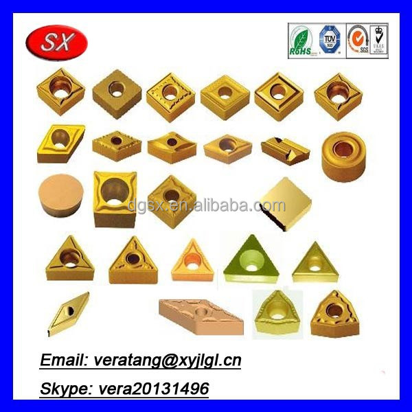CNC precision turned parts carbide Inserts