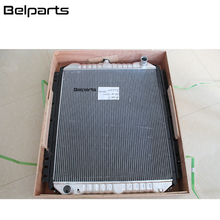 Excavator spare parts cooling system 4217470 engine oil cooler EX60-2 EX60-1 EX60-3 hydraulic oil cooler with inter cooler