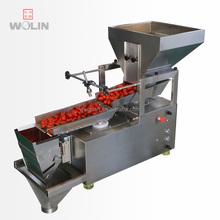 duplex version single head weight filler packing <strong>machine</strong> for dry fruits apple potato banana chips cherry tomato