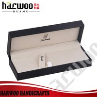 Luxury harwoo made paper pen box wholesale