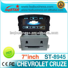 Chevrolet Cruze accessories with 3G/smart TV/GPS navigation/bluetooth/IPOD/CD player,ST-8945