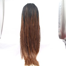 wholesale hotsale top quality long synthetic braided wig
