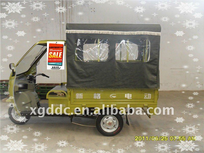 three wheeler electric for passengers CE