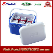 5L plastic cooler box for vaccine,beer,food,fishing,BBQ, ice chest