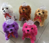plush animal puppies child pet stroller walking dog toy factory