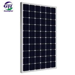 chinese solar panel industry canadian 250w 260w monocrystalline solar panels for home use and inverter