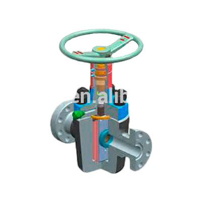 api 6a high pressure Cameron FC type flanged gate valve for oilfield