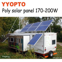 high efficiency best price solar panel 195W for hunting feeder